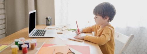 Ajuda de educação online para seu filho